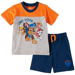 Nickelodeon Paw Patrol Toddler Boys Top Pups Shorts Set