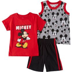Disney Mickey Mouse Toddler Boys 3-pc. Original Mickey Set