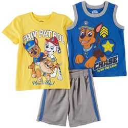 Nickelodeon Paw Patrol Toddler Boys 3-pc. Help Shorts Set