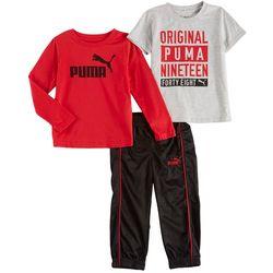Puma Toddler Boys 3-pc. Active Orignial 1948 Pants Set