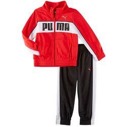 Puma Toddler Boys Logo Track Jacket Pants Set