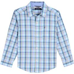 Nautica Toddler Boys Robert Plaid Button Down Shirt