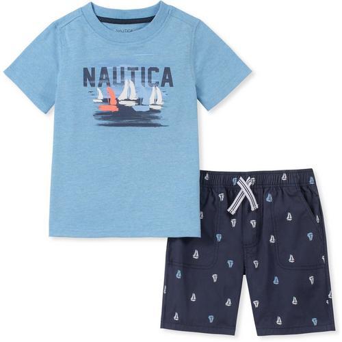 a39e17d099 Nautica Toddler Boys Sailboat Print Shorts Set | Bealls Florida