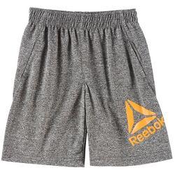 Reebok Toddler Boys Heathered Interlock Shorts