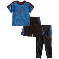 Body Glove Toddler Boys 3-pc. Space Dye Active Pants Set