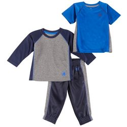 Body Glove Toddler Boys 3-pc. Active Jogger Pants Set