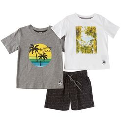Body Glove Toddler Boys 3-pc. Chill In Paradise Shorts Set