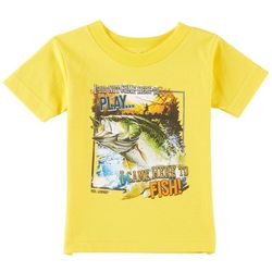 Reel Legends Toddler Boys I Came To Fish T-Shirt