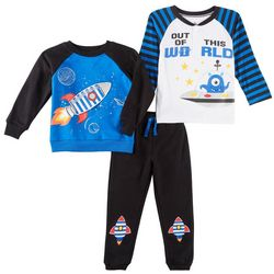 Little Rebels Toddler Boys 3-pc. Out Of This World Pants Set