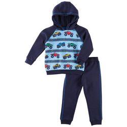 Little Rebels Toddler Boys Monster Truck Hoodie Pants Set