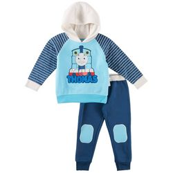 Little Rebels Toddler Boys Thomas the Train Hoodie Pants Set