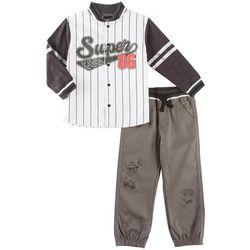 Little Rebels Toddler Boys Super Cool 86 Sweater Pants Set