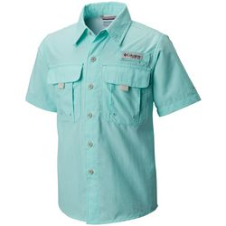 Columbia Big Boys PFG Bahama Short Sleeve Shirt