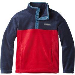 Columbia Big Boys Steens Mountain Quarter Snap Fleece Jacket