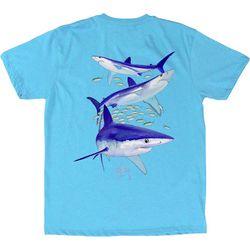 Guy Harvey Big Boys Mako Reef Shark T-Shirt