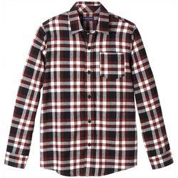 French Toast Big Boys Buffalo Plaid Flannel Shirt