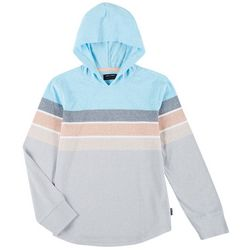 Ocean Current Big Boys Long Sleeve Striped Hoodie