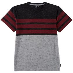 Ocean Current Big Boys Striped V-Neck T-Shirt