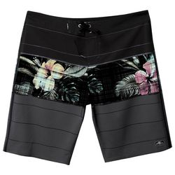 O'Neill Big Boys Sneaky Freak Striped Floral Boardshorts