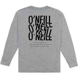 O'Neill Big Boys Worked Long Sleeve T-Shirt