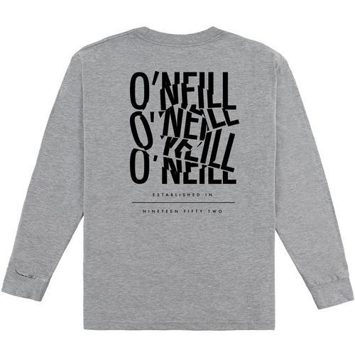 ONEILL Boys Big Long Sleeve Logo Tee