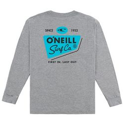 O'Neill Big Boys Fast 'N Fresh Long Sleeve T-Shirt