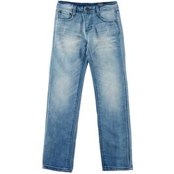 5 Star Boys Big Boys Straight Leg Distressed Denim Jeans