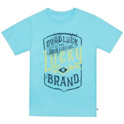 Lucky Brand Big Boys Good Luck And Good Fortune T-Shirt