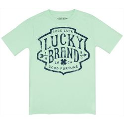 Lucky Brand Big Boys Good Fortune Logo T-Shirt