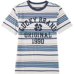 Lucky Brand Big Boys Lucky Vintage Striped T-Shirt