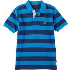Nautica Big Boys Rugby Striped Polo Shirt
