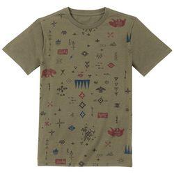 Lucky Brand Big Boys Tribal Icon Print T-Shirt