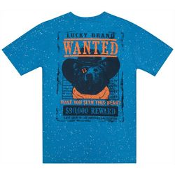 Lucky Brand Big Boys Wanted Bear T-Shirt