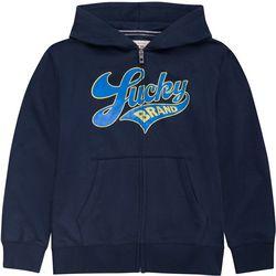 Lucky Brand Big Boys Logo Zip-Up Hoodie