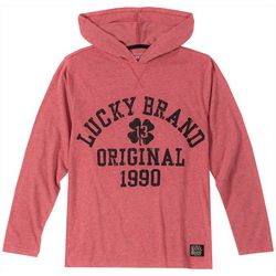 Lucky Brand Big Boys Original 1990 Long Sleeve Hoodie