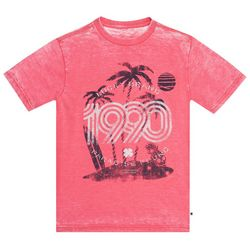 Lucky Brand Big Boys 1990 Paradise Found T-Shirt