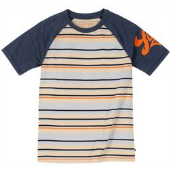 Lucky Brand Big Boys Striped Raglan T-Shirt