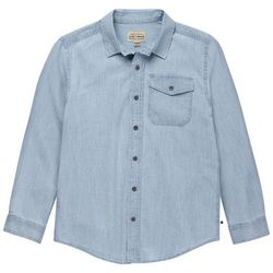 Lucky Brand Big Boys Button Down Denim Long Sleeve Top