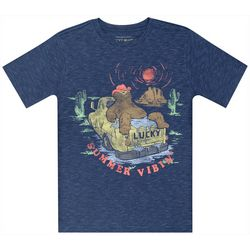 Lucky Brand Big Boys Summer Vibin' Bear T-Shirt