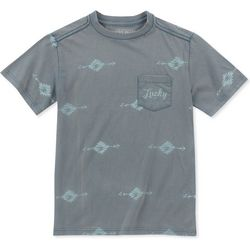 Lucky Brand Big Boys Tribal Pocket T-Shirt