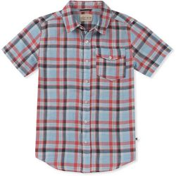 Lucky Brand Big Boys Plaid Button Down Top