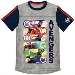 Marvel Avengers Little Boys Avengers Colorblock T-Shirt