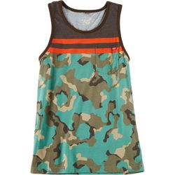 Lost Big Boys Camo Print Tank Top