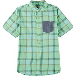 Lost Big Boys Button Down Clink Shirt