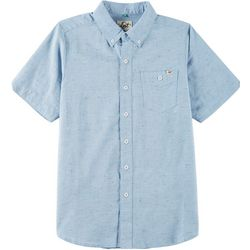 Lost Big Boys Button Down Nug Solid Shirt