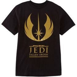 Star Wars Big Boys Jedi Logo T-Shirt
