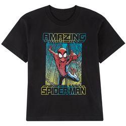 Spider-Man Big Boys Short Sleeve Amazing T-shirt