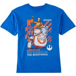 Star Wars Big Boys Droids Resistance T-Shirt