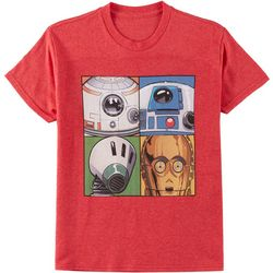 Star Wars Big Boys Four Droids T-Shirt