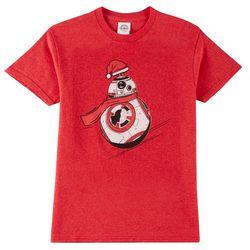 Star Wars Big Boys BB-8 Santa Robot T-Shirt